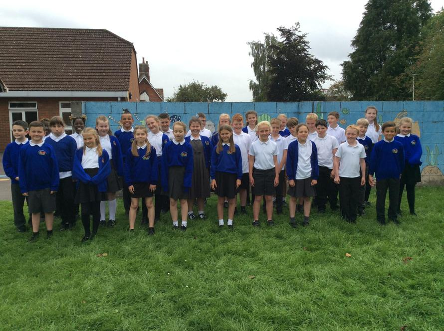 We are a class of 31 Year 6 pupils
