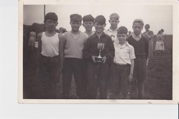 NC inter schools sports team 1958