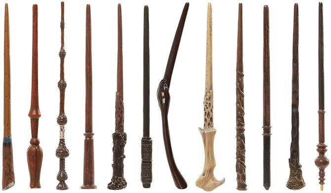 Can you find a wand-like-stick on a walk this week