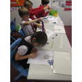Recording our measurements.