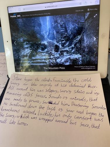 HG's excellent creative writing!