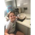 PC made Mrs Taylor's Mars cake