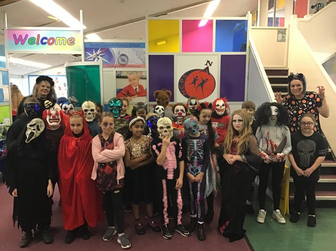 Happy Halloween from class five