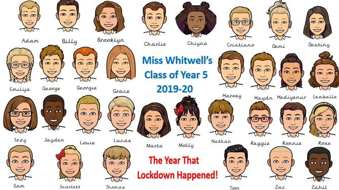Class 5 - The Year Of Lockdown!