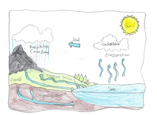 IC's revision of the water cycle