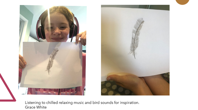 Great feather work GW! Well done!
