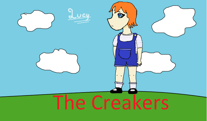 "AA's lovely depiction of Lucy in our shared reading book ""The Creakers"""
