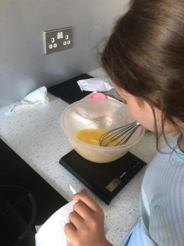 PC Zoom Challenge Cake Making