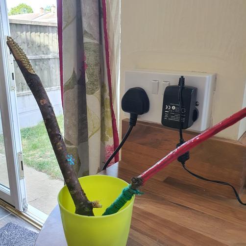 NE has designed these magic wands!