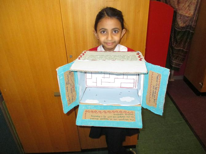 Anushka's Labyrinth box! Looks deadly!