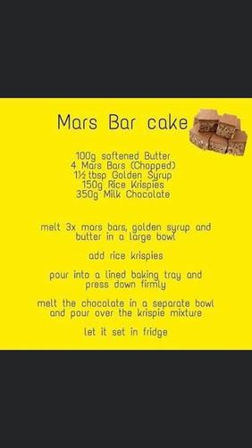 This is Mrs Taylor's Cake recipe.