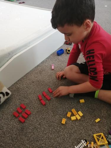 Using lego for addition