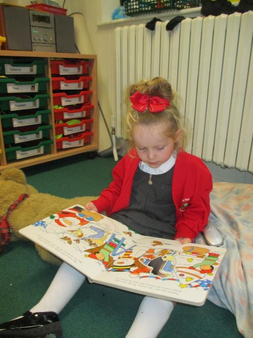 Enjoying reading a range of books
