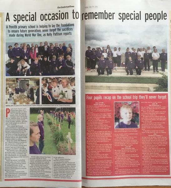 The Cumberland News Learning Supplement  29.7.16
