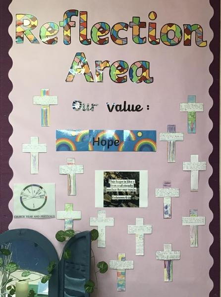 Our Reflection Wall