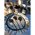 Fired Pottery which will be displayed at the Od Arts Festival on 14-16 May 2021at the