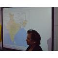 We discussed regions of India.