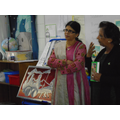 Our visit from the Liverpool Hindu Temple.
