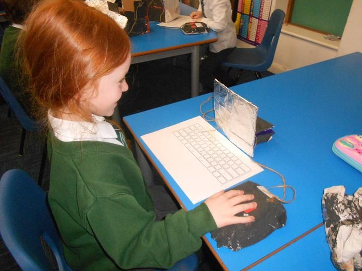 Using computer models made in creative curriculum!