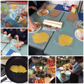 DT - making our Mayan Wraps