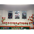 Class 4 Remembrance Day poppies