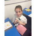We are very proud that a KS2 poetry finalist is in our class!