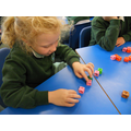Subtracting with cubes