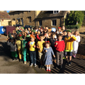 We all dressed up based on Roald Dahl's work!