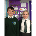 Our new Head Boy and Head Girl!