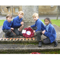 Remembrance wreath laying