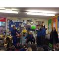 Aladdin pantomime workshop