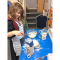 World book day baking for our tea party