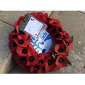 Swell School's memorial wreath