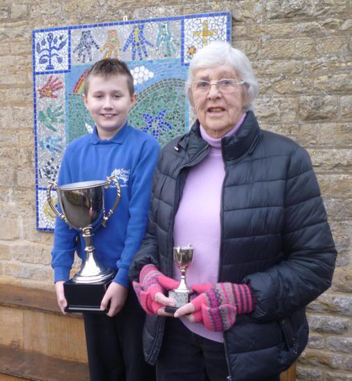 Winner of the trophy in December 2016