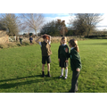 Acting out the story of Rama and Sita in RE