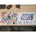 Charlie and Harry's NHS poster