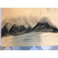 Nell's beautiful charcoal drawing