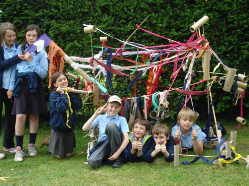 Quenington Sculpture Show 2011