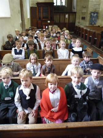 A very serious Victorian Cold Aston School Day!