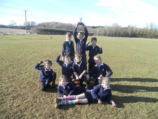 Our successful Tag Rugby team, March 2015