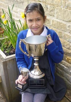 Winner of the trophy in March 2015