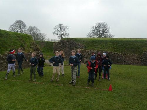 Class 2 trip to the National Roman Legion Museum