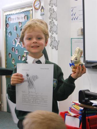 Book Review Winner - Golden Chocolate Oscars!