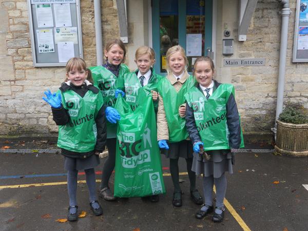 The School Council led 'Big Tidy Up'