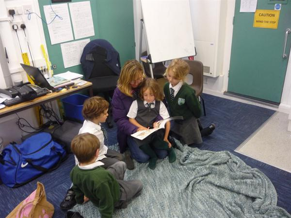 Reading for Pleasure - parents and governors