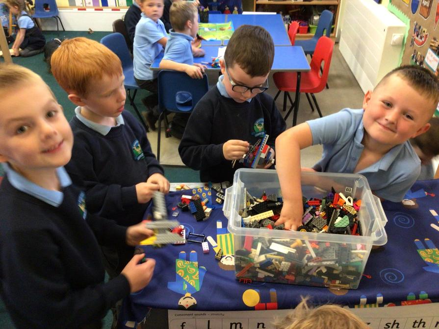 Lego models created linked to our topic.