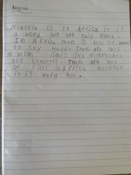 Great writing Isabel!