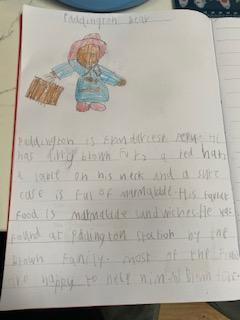 Toby's facts about Paddington Bear