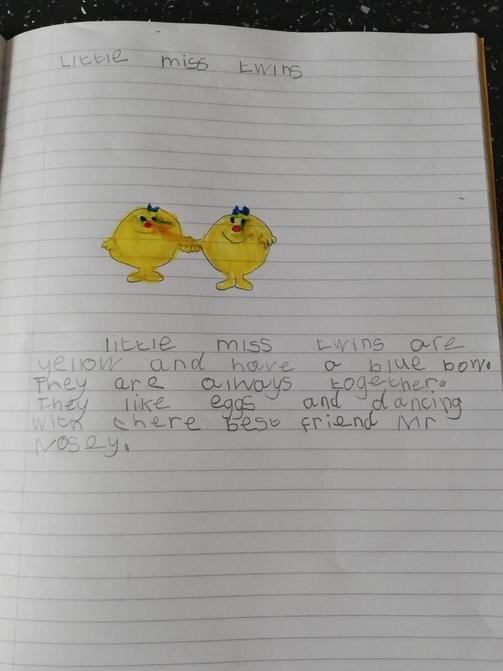 Good writing Elsie!