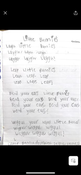 Lottie's song.